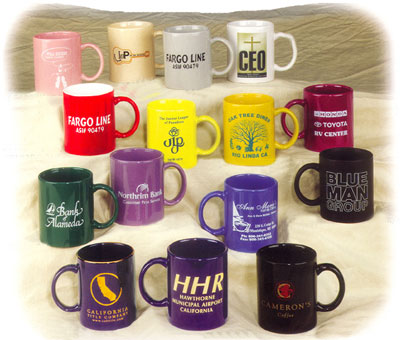 11oz C-Handle Coffee Mugs